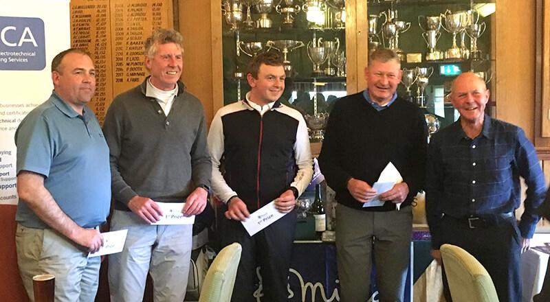 Breakaway East Golf Team win charity match